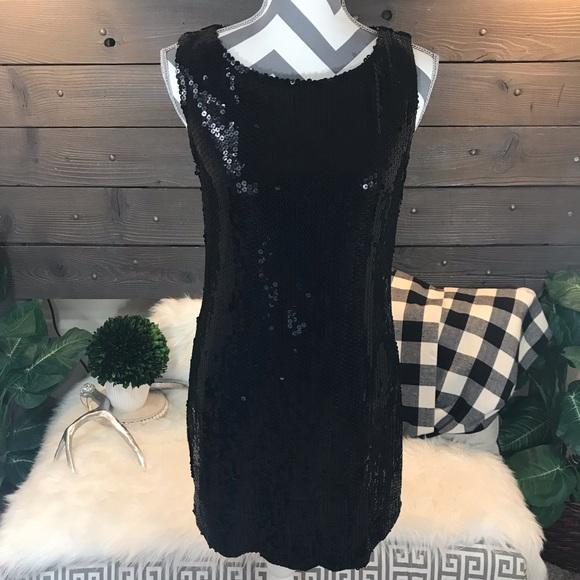 Forever 21 Dresses & Skirts - XXI Forever 21 Sequin Black Dress